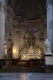 13ος καθεδρικός ναός Cefalu αιώνα σε Cefalu, Σικελία Στοκ Εικόνες