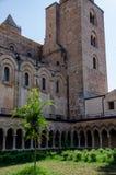 13ος καθεδρικός ναός Cefalu αιώνα σε Cefalu, Σικελία Στοκ Φωτογραφία