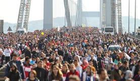 37ος μαραθώνιος Vodafone Ιστανμπούλ Στοκ φωτογραφία με δικαίωμα ελεύθερης χρήσης