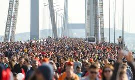37ος μαραθώνιος Vodafone Ιστανμπούλ Στοκ Φωτογραφίες