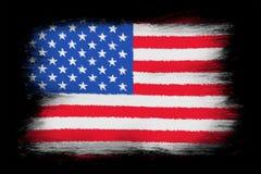 4$ος πατριωτισμός ΗΠΑ Ιουλίου αμερικανικών σημαιών ελεύθερη απεικόνιση δικαιώματος