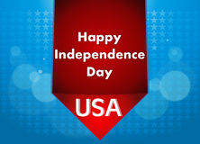 4ος της απεικόνισης Ιουλίου, αμερικανικός εορτασμός ημέρας της ανεξαρτησίας Στοκ Εικόνες