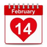 14ος του Φεβρουαρίου διανυσματική απεικόνιση