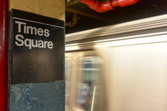 42$ος υπόγειος οδών - NYC Στοκ φωτογραφία με δικαίωμα ελεύθερης χρήσης