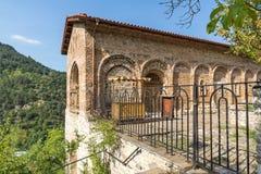 Οστεοφυλάκιο στην παλαιά εκκλησία στο μεσαιωνικό μοναστήρι Bachkovo, Βουλγαρία Στοκ εικόνες με δικαίωμα ελεύθερης χρήσης