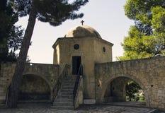 Οστεοφυλάκιο, μοναστήρι Arkadi, Κρήτη Στοκ Εικόνες