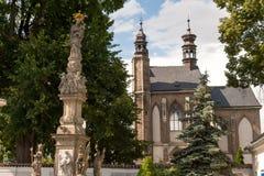 Οστεοφυλάκιο της Σλοβακίας Sedlec Στοκ φωτογραφία με δικαίωμα ελεύθερης χρήσης