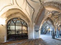 Οστεοφυλάκιο της Σλοβακίας Sedlec Στοκ Φωτογραφία