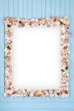 οστρακόδερμα καθρεφτών πλαισίων διακοσμήσεων Στοκ Εικόνες