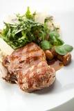 Οσφυϊκή χώρα χοιρινού κρέατος Στοκ Εικόνα