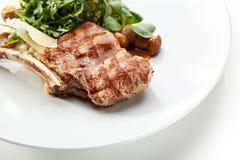 Οσφυϊκή χώρα χοιρινού κρέατος Στοκ Εικόνες