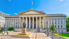 Ουάσιγκτον, ΗΠΑ, αμερικανικό Υπουργείο Θησαυροφυλακίου και Γενικός Επιθεωρητής στοκ φωτογραφία με δικαίωμα ελεύθερης χρήσης