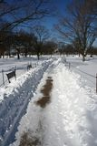 Ουάσιγκτον και Νέα Υόρκη το χειμώνα Στοκ φωτογραφία με δικαίωμα ελεύθερης χρήσης