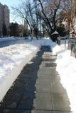 Ουάσιγκτον και Νέα Υόρκη το χειμώνα στοκ εικόνα