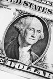Ουάσιγκτον στο δολάριο Στοκ Φωτογραφίες