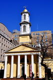 Ουάσιγκτον, συνεχές ρεύμα: St.John εκκλησία Στοκ Εικόνα