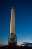 Ουάσιγκτον, ΣΥΝΕΧΕΣ μνημείο Στοκ εικόνες με δικαίωμα ελεύθερης χρήσης