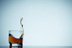 ουίσκυ γυαλιού Στοκ φωτογραφία με δικαίωμα ελεύθερης χρήσης