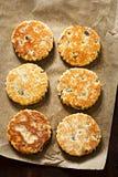 Ουαλλέζικο κέικ με τις σταφίδες και τη ζάχαρη στοκ φωτογραφίες