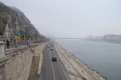 Ουγγαρία, Βουδαπέστη, βουνό ` Gellert ` ή σπηλιά του ST John Στοκ φωτογραφία με δικαίωμα ελεύθερης χρήσης