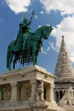 Ουγγαρία ι άγαλμα stephen Στοκ εικόνα με δικαίωμα ελεύθερης χρήσης