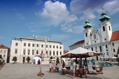 Ουγγαρία - Gyor Στοκ φωτογραφία με δικαίωμα ελεύθερης χρήσης