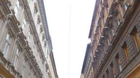 Ουγγρικά διαμερίσματα, Βουδαπέστη, Ουγγαρία, 4k απόθεμα βίντεο