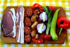 Ουγγρικά τρόφιμα στοκ εικόνα