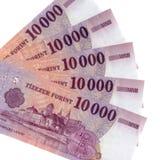 Ουγγρικά Forint τραπεζογραμμάτια Στοκ φωτογραφίες με δικαίωμα ελεύθερης χρήσης