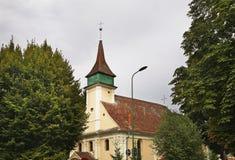 Ουγγρική εβαγγελική εκκλησία σε Brasov Ρουμανία στοκ φωτογραφία με δικαίωμα ελεύθερης χρήσης