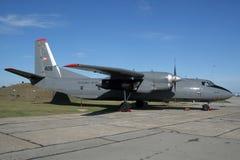 Ουγγρική Πολεμική Αεροπορία Antonov ένας-26 μεταφορικό αεροπλάνο Στοκ φωτογραφίες με δικαίωμα ελεύθερης χρήσης