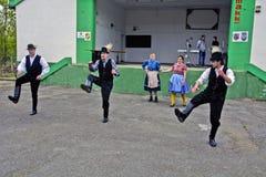 Ουγγρικός εθνικός χορός στοκ φωτογραφία