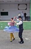 Ουγγρικός εθνικός χορός στοκ εικόνες