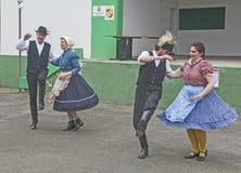 Ουγγρικός εθνικός χορός στοκ φωτογραφίες με δικαίωμα ελεύθερης χρήσης