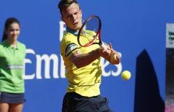 Ουγγρικός τενίστας Marton Fucsovics Στοκ φωτογραφία με δικαίωμα ελεύθερης χρήσης