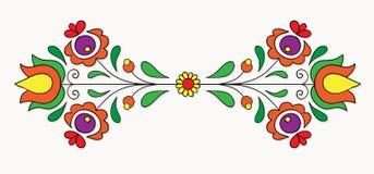 Ουγγρικό λαϊκό μοτίβο Στοκ εικόνες με δικαίωμα ελεύθερης χρήσης