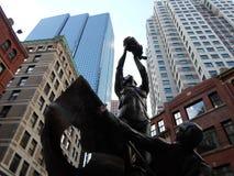 Ουγγρικό μνημείο, τετράγωνο ελευθερίας, Βοστώνη, Μασαχουσέτη, ΗΠΑ Στοκ Εικόνες