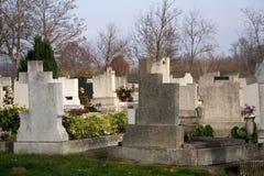 Ουγγρικό νεκροταφείο Στοκ φωτογραφία με δικαίωμα ελεύθερης χρήσης