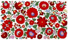 Ουγγρικό σχέδιο κεντητικής για τα μαξιλάρια Στοκ Εικόνες