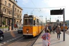 Ουγγρικό τραμ Στοκ φωτογραφίες με δικαίωμα ελεύθερης χρήσης