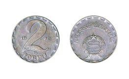 Ουγγρικό forint νομισμάτων 3, έτος 1972 στοκ εικόνες