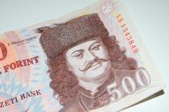 Ουγγρικό 500 Forint τραπεζογραμμάτιο Στοκ φωτογραφία με δικαίωμα ελεύθερης χρήσης