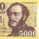 Ουγγρικό forint Στοκ Εικόνες