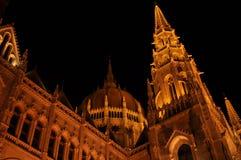 Ουγγρικό Parlament στη Βουδαπέστη στοκ εικόνα με δικαίωμα ελεύθερης χρήσης