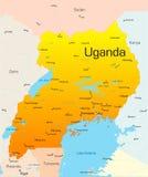 Ουγκάντα ελεύθερη απεικόνιση δικαιώματος