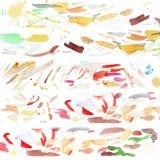 Ουδέτερη απόχρωση της βούρτσας Watercolor ελεύθερη απεικόνιση δικαιώματος