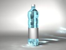 ουδέτερο ύδωρ μπουκαλι Στοκ εικόνες με δικαίωμα ελεύθερης χρήσης