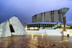 ΟΥΕΛΛΙΝΓΚΤΟΝ, ΝΕΑ ΖΗΛΑΝΔΊΑ - 4 ΣΕΠΤΕΜΒΡΊΟΥ 2018: Μουσείο νέου Zeala στοκ εικόνα με δικαίωμα ελεύθερης χρήσης