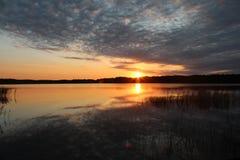 Ουκρανία, λίμνη Στοκ Εικόνες