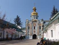 Ουκρανία Κίεβο lavra του Κίεβου pechersk Εκκλησία πυλών Στοκ Εικόνα